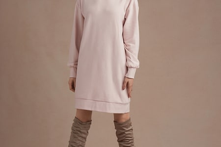 Beginners Sewing: Winter Sweater Dress