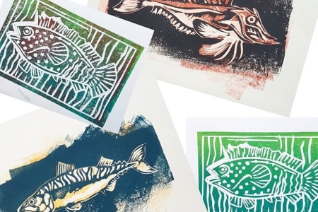 Exploring Colour with Lino   Reduction Printmaking