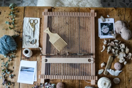 Introduction to Weaving on a Frame Loom