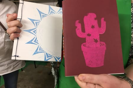Make Your Own Notebook and Journal (with BYOB!)