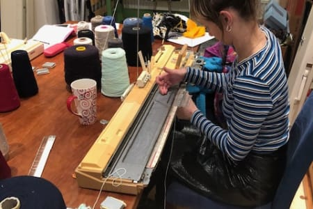 Knitting Machine Workshop - All Levels