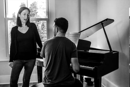 Learn to sing your favourite songs with the help of a professional vocal coach.