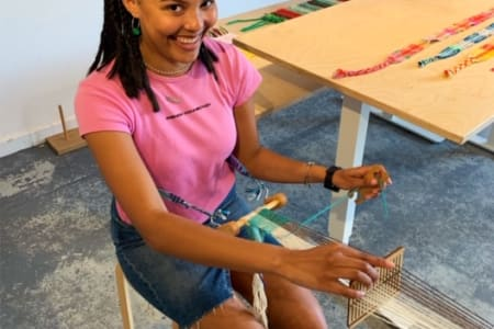 Beginners Backstrap Weaving