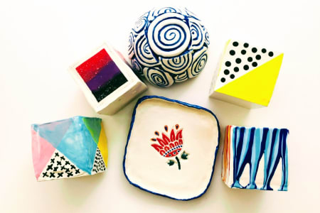 Make Your Own Handmade Pottery - Slab and Coil pots and plates