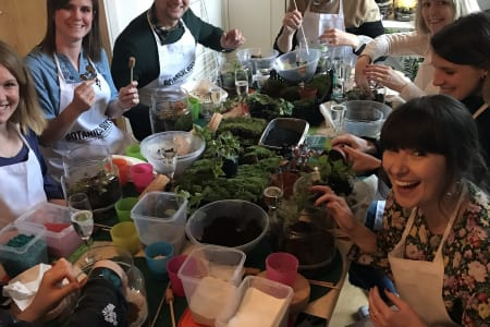 Terrarium Eco-System Masterclass - Private Group Booking!