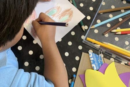 Drawing and Origami Class for Children 6+