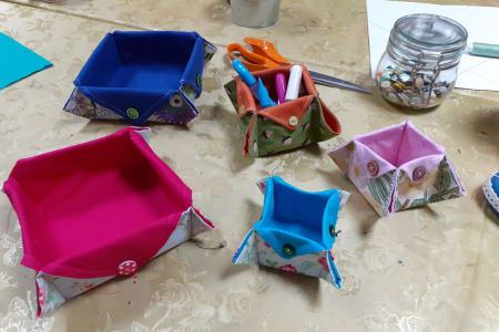 Sew an Origami Box