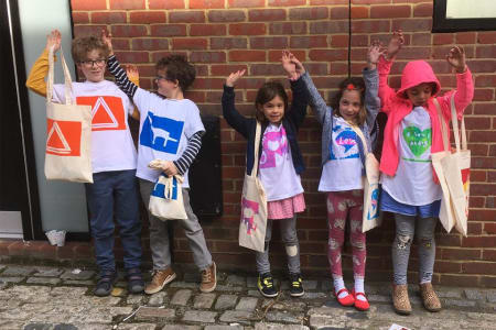 Easy Squeegee Kids - Screen Print Weekend Parties for Children
