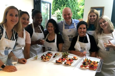 Corporate 'Patisserie Challenge' Baking Class