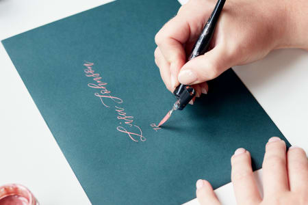 West Elm - Beginners Modern Calligraphy
