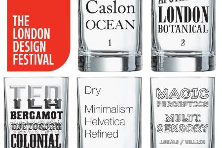 Gin & Type Tasting at the London Design Festival