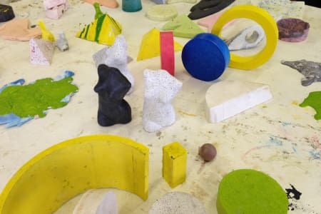 Sculpting and Casting with Jesmonite Course