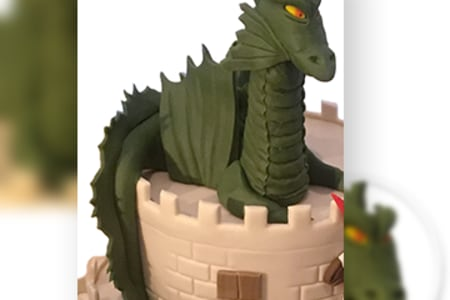 Cake Decorating: Scary Looking Dragon