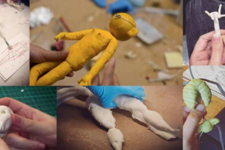 Stop Motion Animation, Foam & Latex Puppet Building Workshop