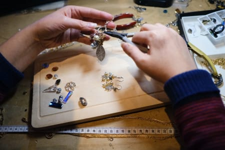 Immersive Jewellery Making Experience with Nadia Minkoff London