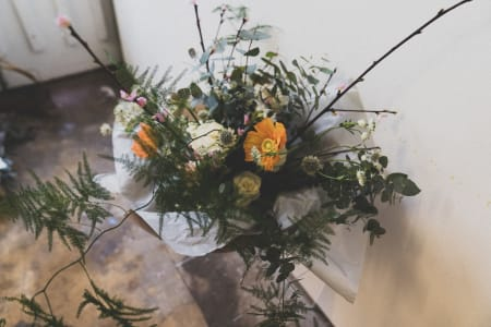Seasonal Hand-tied Bouquet Class