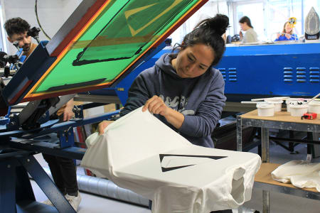 Beginners T-Shirt Screen Printing Workshop