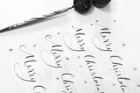 Beginner's Modern Calligraphy Workshop