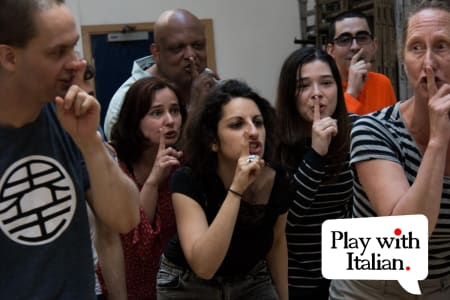 Learn Italian through Acting (for Adults!) - Taster class