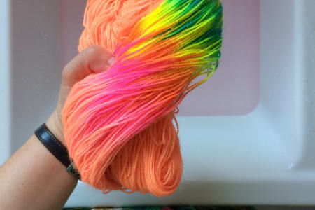 Dye your own yarn with The Wool Kitchen