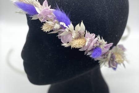 Dried Flower Crown Workshop, hen party, bridal shower!