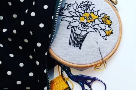 Embroidery for Beginners - Make Your Own Wall Hanging