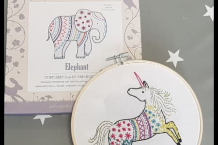 Learn the Therapeutic Art of Hand Embroidery