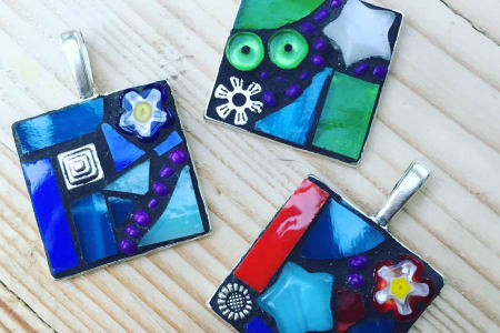 Mosaic a Pendant in an Afternoon