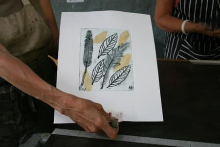 Collagraph & Drypoint Printmaking