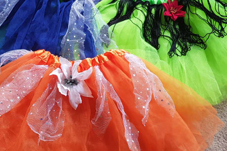 Kids holiday Tutu skirt making class