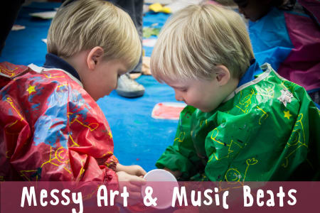 Music Beats and Messy Play