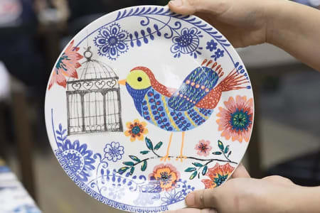 Creative Pottery Painting Workshop