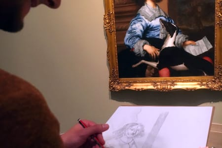 Museum Sketch – Society Portraits at Tate Britain