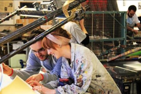Beginners Screen Printing Fabric Workshop
