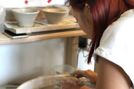 Tuesday Evening - Pottery Course on the Wheel