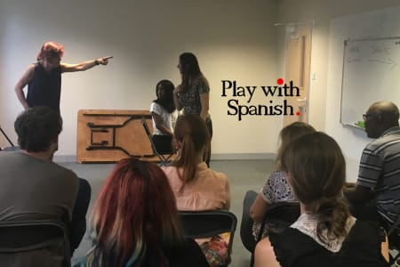 Learn Spanish through Acting (for Adults!) - Taster class