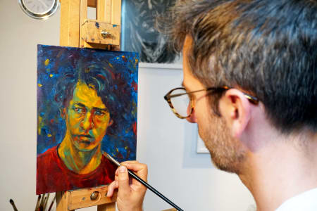 Two Day Portrait Painting with Leo Crane
