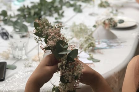 Dried Flower Crown making workshop