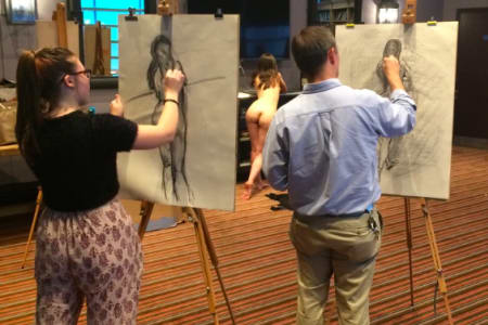 Drink and Draw - Life Drawing Class in Kentish Town