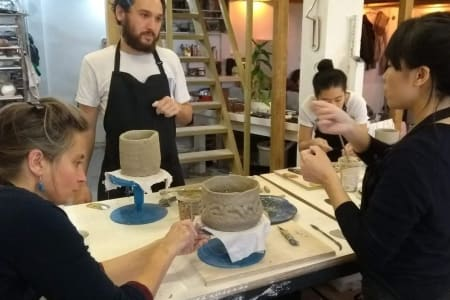 London-Intensive full day hand building techniques