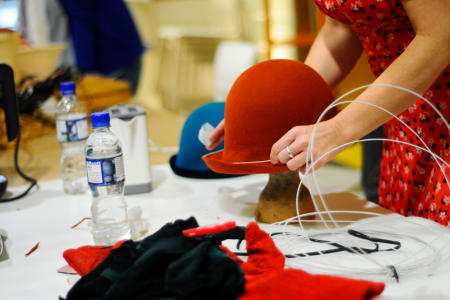 Vintage Felt Hat Making Workshop