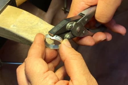 Make a Ring in Sterling Silver