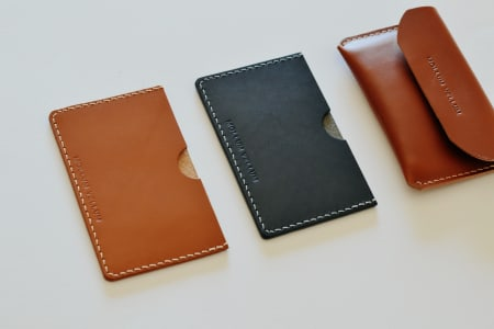 Leathercraft Workshop : Leather Card Holder Making (Beginners Class)