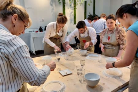 Pasta making intensive class (basic + filled pasta) with a professional Italian chef