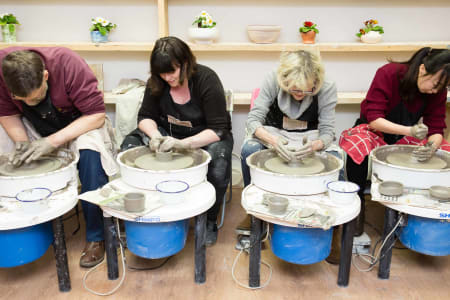 Luxury Pottery Throw-Down Clay Party