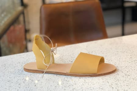 Leather Sandal Making Class
