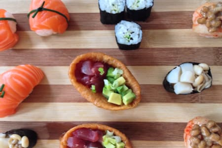 Sushi Canape and Cocktails!