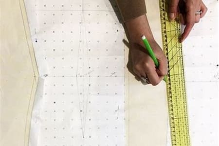 Pattern Cutting for Beginners: Learn to Draft a T-Shirt Pattern