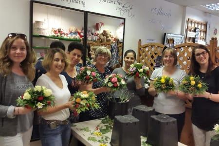 Hen Party Flower Arranging Workshop