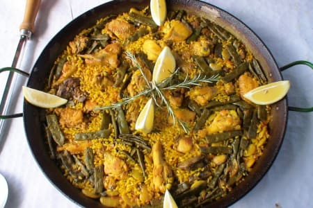 Traditional Paella Valenciana Cooking Class: Battersea